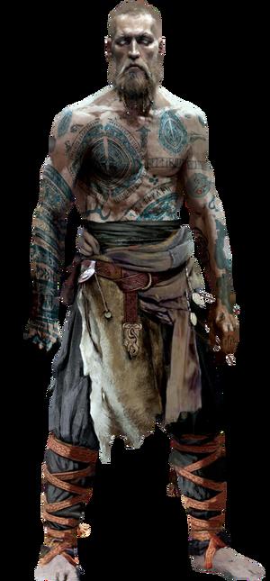 Balder god of war 4 by gasa979-dce1m49