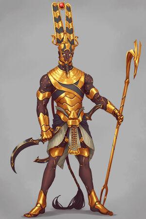 Egyptian god amun by kenji893-dbd6fgp
