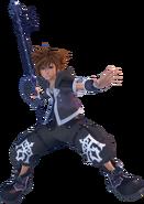 Sora (Dark Form) KHIII
