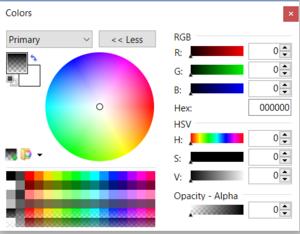ColorWindowOpacitySetToZero