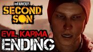 InFAMOUS Second Son Evil Karma Ending HD 1080p