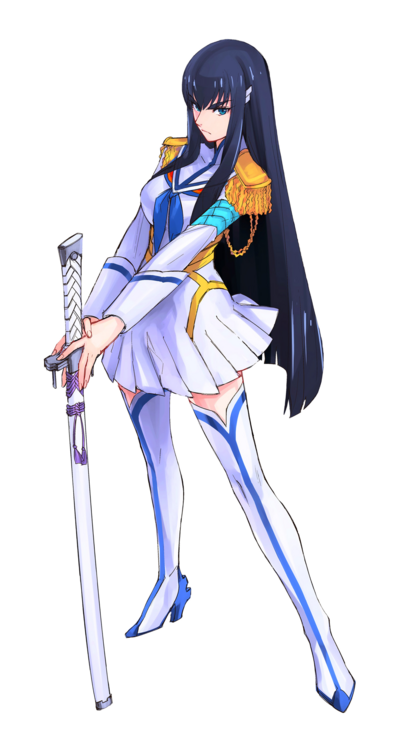 Kill La Kill Satsuki Base Render