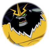 Shocksquatch (Ben 10)-Original Sticker