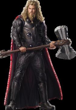 Avengers endgame fat thor 3 png by captain kingsman16