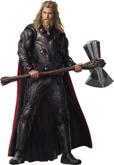 Avengers endgame fat thor 3 png by captain kingsman16