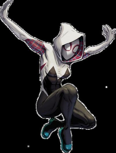Marvel Comics Spider-Gwen (Render)