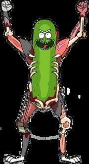 Pickle rick render by ricardorodrigues92-dbid8wh