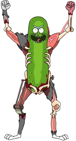 Pickle rick render by ricardorodrigues92-dbid8wh