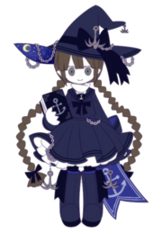 Wadanohara Sea Witch (Render)