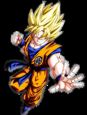 Goku ssj render ssr by dbzandsm-d9niyj3