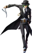 Hazama (Chronophantasma, Character Select Artwork, 2)