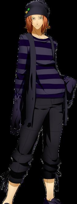 XBlaze Akio Osafune Avatar Normal Pose 1