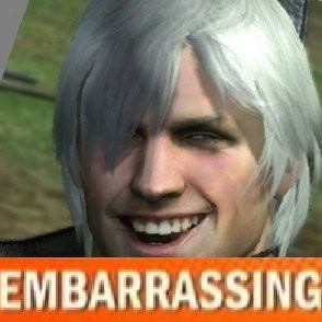 Dante embarrassing