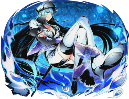 Akame ga Kill Esdeath (Divine Gate)
