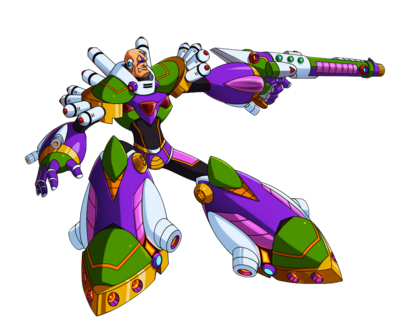 Megaman x7 sigma by toastieman-da9m9up