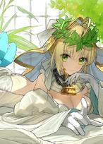 Saber (Nero Bride)