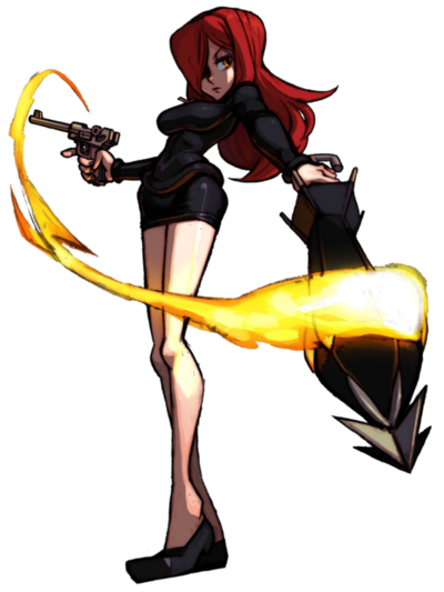 Parasoul render by clueless313-d6ipkk1