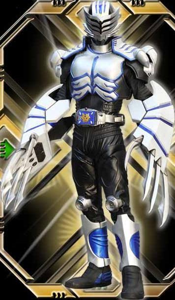 Kamen Rider Tiger Render