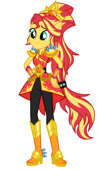 Legend of everfree sunset shimmer by mixiepie-dajlzxp