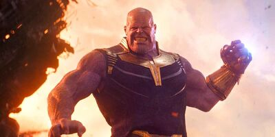 Thanos pulls the moon