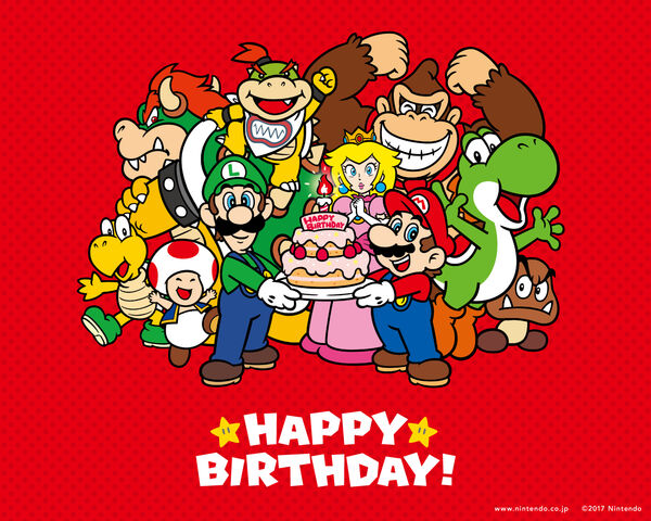 Mario Happy Birthday