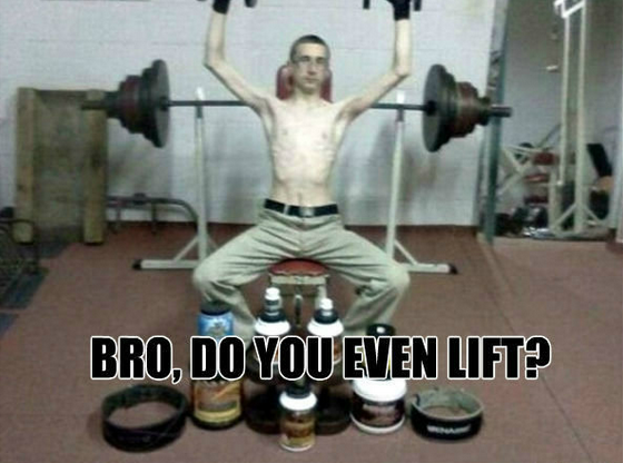 Do you even lift bro meme funny dating
