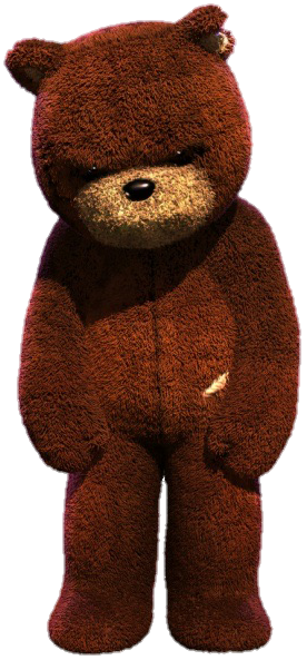 Naughty Bear Render