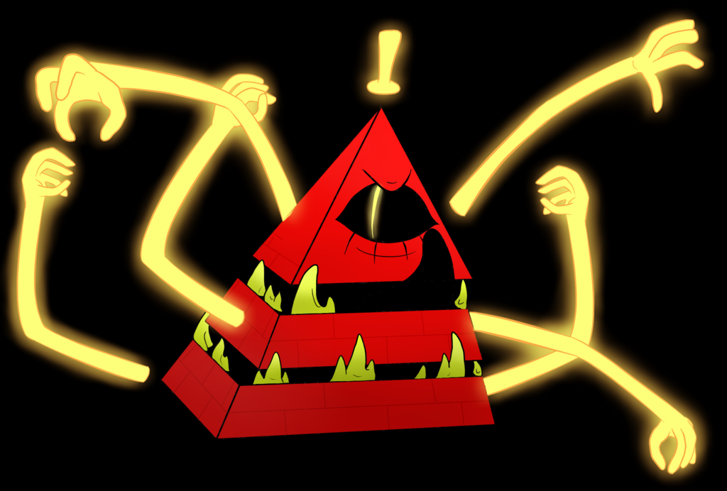 Mad Bill Cipher Mad Bill Cipher Drawing By Invisible Mermaid