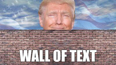 Trump of text