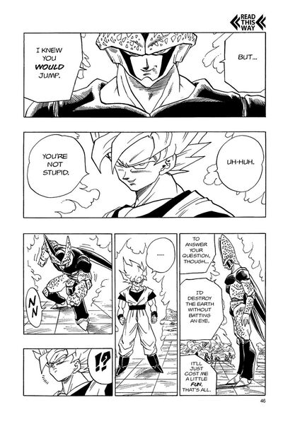 Chapter 399 Cell would destroy Earth 2 (VIZ)