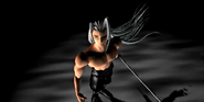Sephiroth waits for Cloud