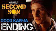 InFAMOUS Second Son Good Karma Ending HD 1080p
