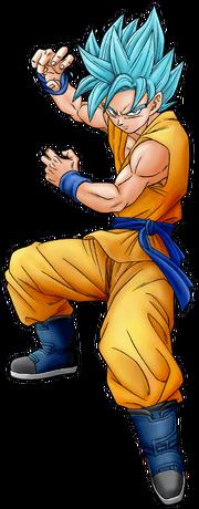 Dragon Ball Super Manga SSGSS Goku (Render)