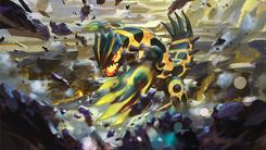 Shiny Mega Groudon - Pokemon TCG XY Ancient Origins