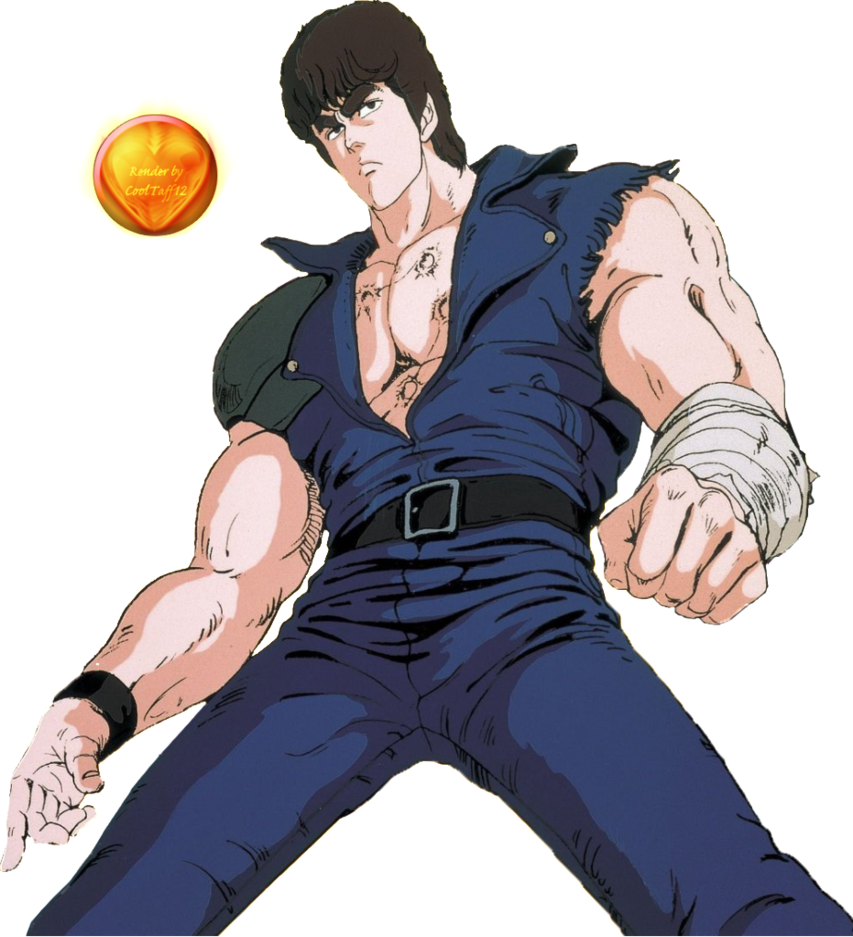 Fist Of The North Star Tv The Complete Series: Image - Kenshiro Render By Cooltaff12-d69hmdw.png