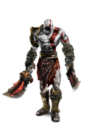 Kratos color by ca5per-d5ezxa3