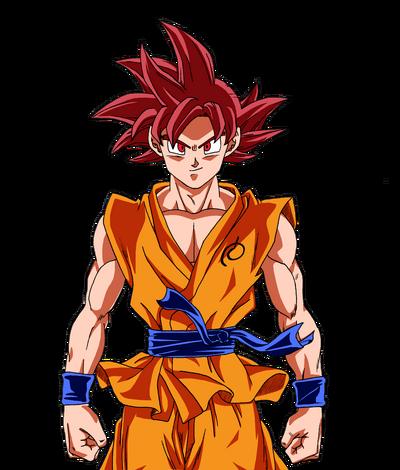 Goku super saiyan god vs hit render by bl sama-da7cap8