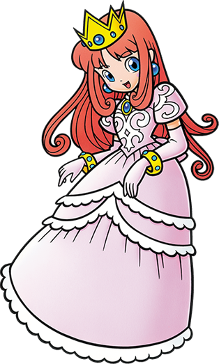 Princess Shokora Ultimate Artwork - Wario Land 4