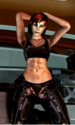 Commander Shepard#Female%20Shepard