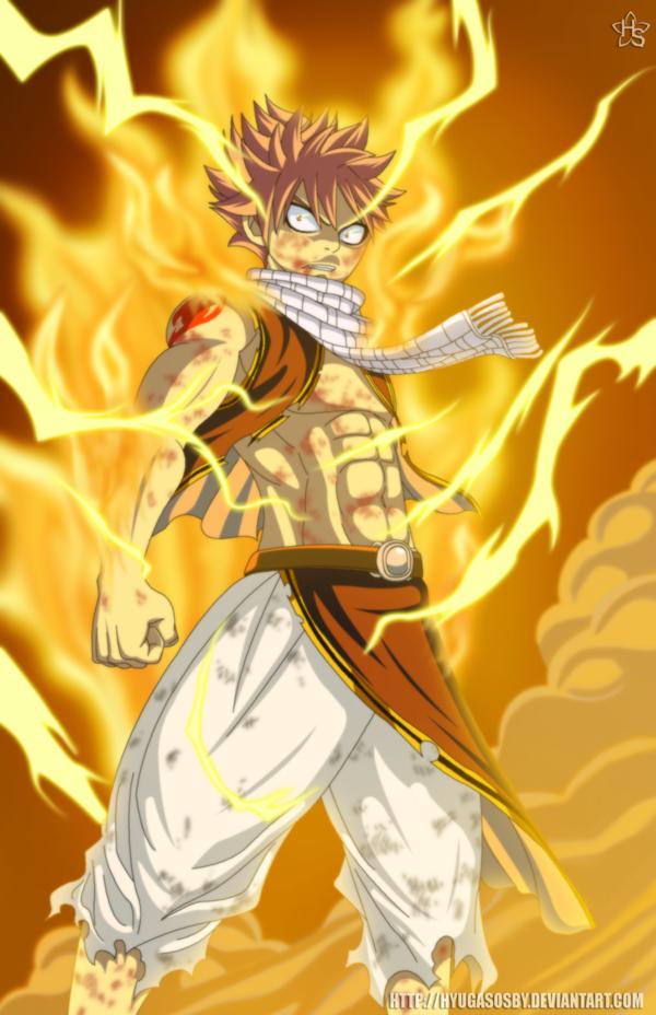 Natsu Lightning Flame Dragon Mode Wallpaper 2