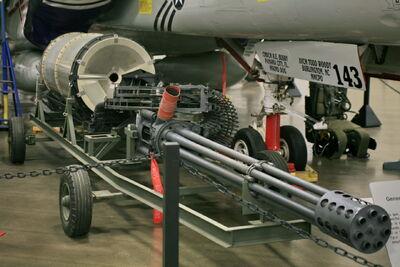 General Electric GAU-8 Gatling Gun