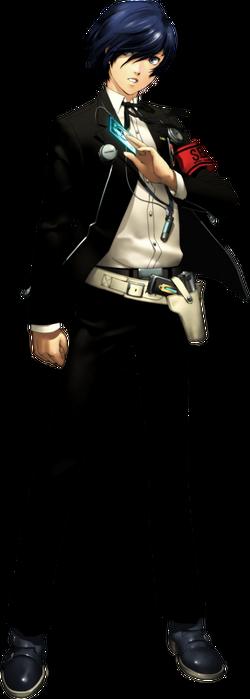 P3 Male Protagonist (Makoto Yuki) Render