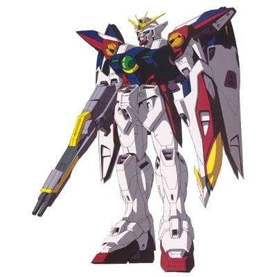 XXXG-00W0 Wing Gundam Zero render