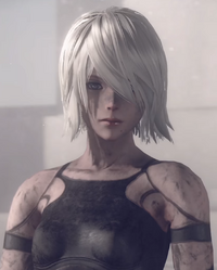 A2 short hair nier automata
