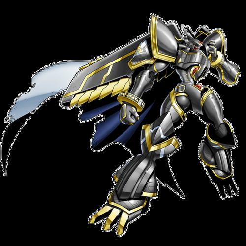 Alphamon Digimon World Decode artwork