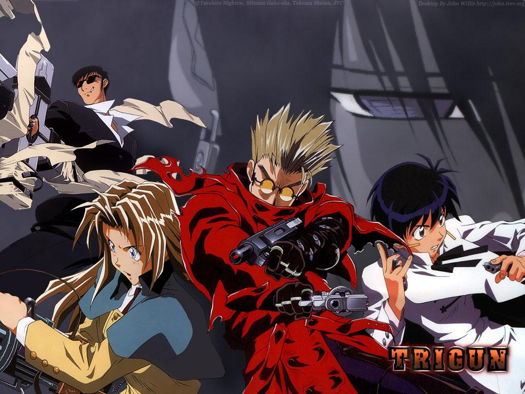 Kết quả hình ảnh cho Trigun anime