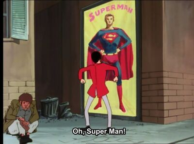 Lupin The Third vs Superman.