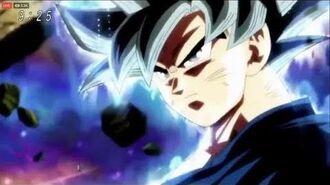 Goku Turns Ultra Instinct Once Again DBS Episode 128-0