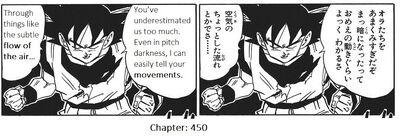 Goku sensing