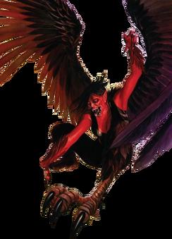 Harpy Red Render2